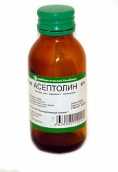 Асептолин, р-р д/наружн. прим. 90% 100 мл флаконы
